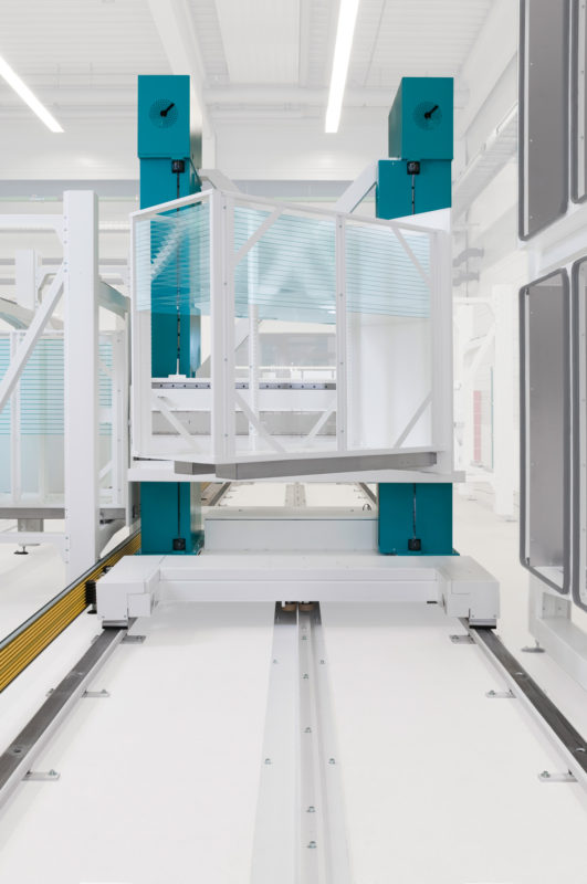 Solar - Dünnschicht - Automation