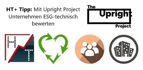 heibel-ticker esg upright project unternehmen bewerten
