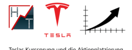 Heibel-Ticker über Teslas Kurssprung und die Aktienplatzierung