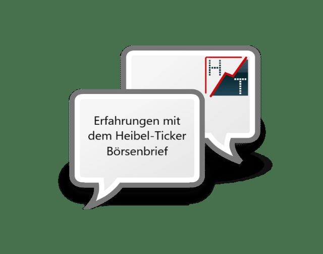 Heibel-Ticker Erfahrungen Börsenbrief Bewertung