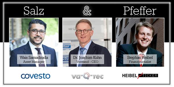 Salz & Pfeffer zum Mittag mit Dr. Joachim Kuhn, CEO va-Q-tec AG