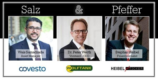 Salz & Pfeffer zum Mittag mit Dr. Peter Werth, CEO von Wolftank-Adisa