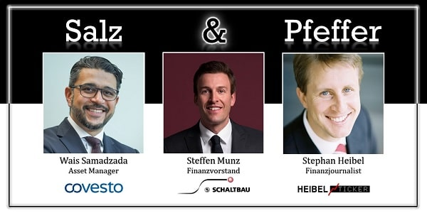 Salz & Pfeffer zum Mittag mit Steffen Munz, aktueller CFO von Schaltbau, ehemaliger CFO von Varta