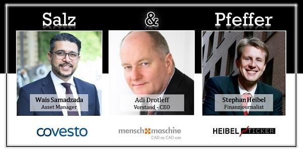 Adi Drotleff, CEO der Mensch und Maschine SE, bei Salz und Pfeffer zum Mittag