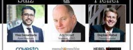 Adi Drotleff, CEO von Mensch und Maschine SE, bei Salz & Pfeffer zum Mittag