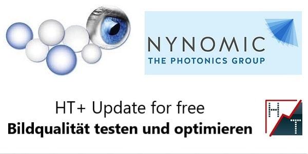 Nynomic - Bildqualität testen und optimieren + Heibel-Ticker PLUS Update for free